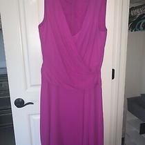 Bcbg Max Azria Womens Purple Grecian Draped High Low Hem Dress Gown Sz 6 Photo