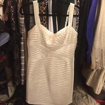 Bcbg Maxazaria White Dress Photo