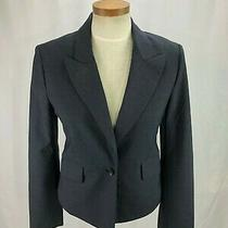 Bcbg Maxazaria Women's Gray Wool Blend Blazer S Photo