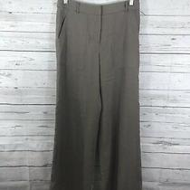 Bcbg Maxazaria Womens Jespen Dress Pants Flare Leg in Spanish Moss Size 2 Photo