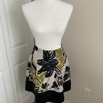 Bcbg Maxazria 100% Silk Skirt Size 4 Photo