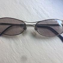 Bcbg Maxazria Aviator Sunglasses W/ Lavender Mirror Coat Bg143 Silver 51/16/145 Photo