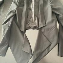 Bcbg Maxazria Black Candice  Blazer Jacket Size S Photo