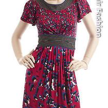 Bcbg Maxazria Blue Black White Dress New Size Xxs Photo
