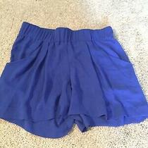 Bcbg Maxazria Blue Shorts Xs Photo