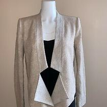 Bcbg Maxazria Candice Jacket Tan Blazer Size M Photo