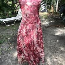 Bcbg Maxazria Dress 8 Flowy Beautiful Photo