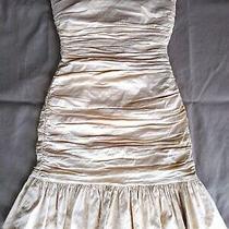 Bcbg Maxazria Dress Champagne Color Size 2 Photo