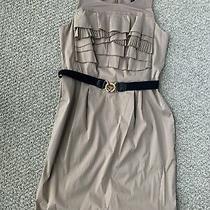 Bcbg Maxazria Dress Size 8 Khaki Photo