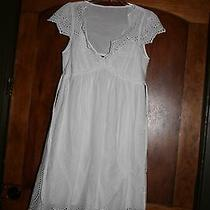 Bcbg Maxazria Eyelet Dress  Small Original 249.99 Photo
