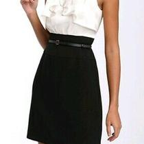 Bcbg Maxazria Front Ruffle Dress Size 8 Photo