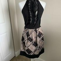 Bcbg Maxazria Geometric Patterned Skirt Size 6 Photo