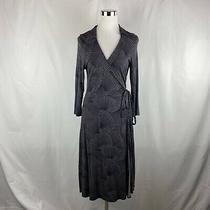 Bcbg Maxazria Geometric Wrap Dress Career - Womens Size Medium (Ll13) Photo