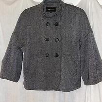 Bcbg Maxazria Gray Blazer With Pockets Size M Photo