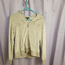 Bcbg Maxazria Hoodie Zip Up Sweatshirt - Sz L Super Cute - Used Condition Photo