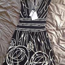 Bcbg Maxazria Isley Black and White Dress Photo