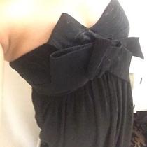 Bcbg Maxazria Maxandcleo Formal Black Dress Sz4 Photo
