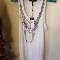 Bcbg Maxazria Necklace Tank Size Xs Photo
