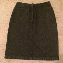 Bcbg Maxazria Pencil Denim Skirt Sz 2 Photo