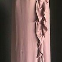 Bcbg Maxazria Pink Ruffle Maxi Dress - Aus Size 8 / Us Size 2 - Brand New Photo