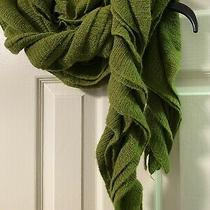 Bcbg Maxazria Scarf Poison Green One Size Elegant Photo