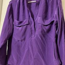 Bcbg Maxazria Size Xxs Purple Long Sleeve Blouse Photo
