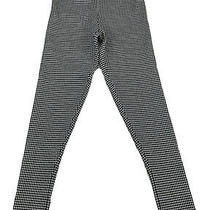 Bcbg Maxazria Stretch Pants Womens Size Xs Black and White Houndstooth Photo
