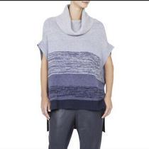 Bcbg Maxazria Sz M/l Elinor Wool Cashmere Cowl Neck Oversized Boxy Tunic Sweater Photo