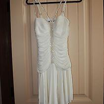 Bcbg Maxazria White Dress Photo