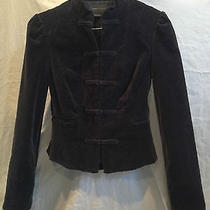 Bcbg Maxazria Women's Black Velvet Jacket Size Xs Photo