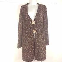 Bcbg Maxazria Womens Size M Cardigan Sweater Longsleeve v Neck Button Knit Top Photo