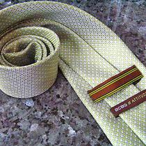 Bcbg Modern Attitude Green Tie 100% Silk   Photo