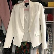 Bcbg Off-White Blazer Size Xs Photo