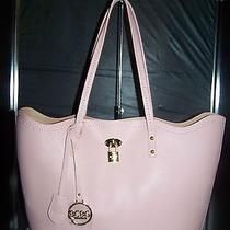 Bcbg Paris F34 Set Tote Travel and Cross Body Bag Blush Pink/warm Taupe Nwt 168 Photo
