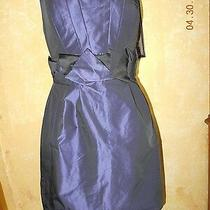 Bcbg Paris Purple Strapless Party Mini Dress Sz 4 Photo