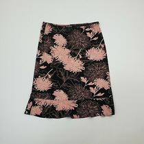 Bcbg Paris Women's Solid Black Casual Pencil Mini Skirt Floral Ladies Small S Photo