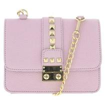 Bcbg Paris Womens Caviar Purple Mini Crossbody Handbag Purse Small Bhfo 7162 Photo