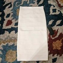 Bcbg Pencil Skirt Gardenia White Xs (Orig.178) Photo