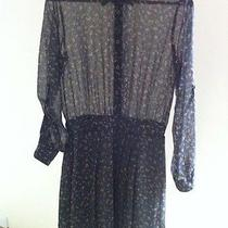 Bcbg Pleated Skirt Shirt Dress (Brand New) (Small) Photo