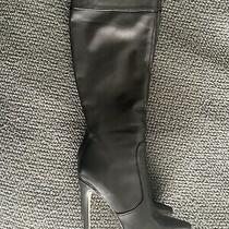 Bcbg Pomchi Leather High Heel Boots Sz 8.5 450 Photo