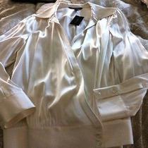 Bcbg Pure Silk Blouse - Holidays - Size L - New Photo