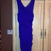 Bcbg Purple Crisscross Dress Photo