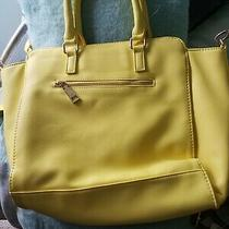 Bcbg Purse/ Large/ Very Good Condition..summer Yellownice Photo