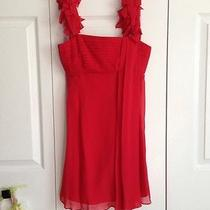 Bcbg Red Cocktail Dress Photo