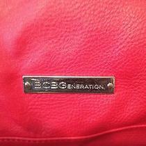 Bcbg Red Leather Handbag Photo