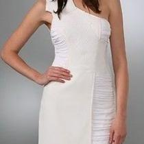 Bcbg Runway White Dress Sz 10 Photo