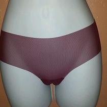 Bcbg Sheer Lace Panty Extra Small Wine Photo