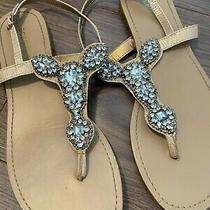 Bcbg Sparkle Sandals Womens 10/11 Photo