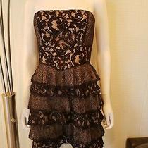 Bcbg Strapless Dress / Black / Bcbgmaxazria / Size 4 Photo