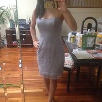 Bcbg Strapless Lace Dress Photo